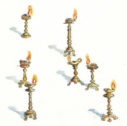 REV lampstands