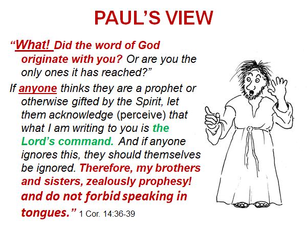 Pauls view